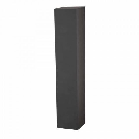 Column Bathroom Furniture 6 Shelves with Door in 4 Finishes - Antanta