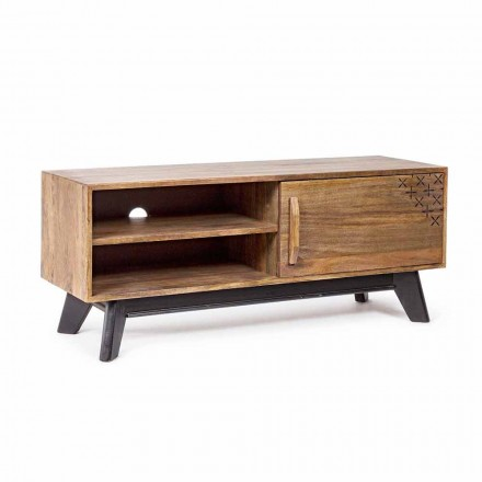 Vintage Style TV Stand Made of Homemotion Wood - Avelina