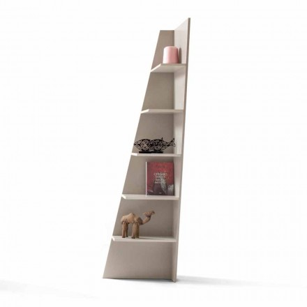 Modern design corner bookcase Esquina by My Home, made in Italy