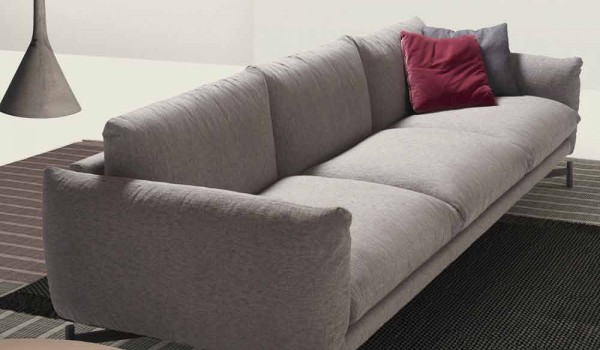 fortable sofa kommy home with fabric upholstery