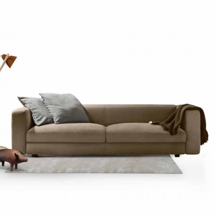 Linear sofa Softly One by My Home, for the living room and office