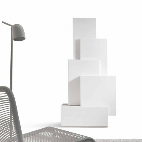 My Home Tetris mobile living room tower design MDF H196cm made in Italy