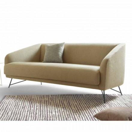 Sofa Twiggy produced by the Italian brand My Home, velvet finish