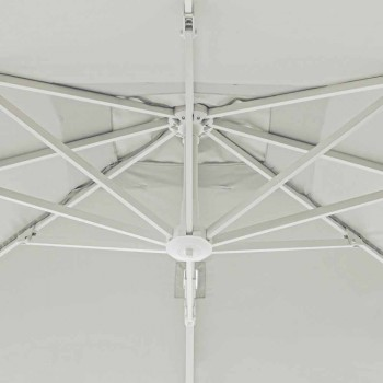 2x3 Outdoor Umbrella in Polyester with Aluminum Structure - Fasma