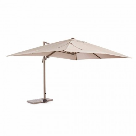 Outdoor Umbrella, 3x4 with Sand-Colored Polyester Cloth - Flamingo