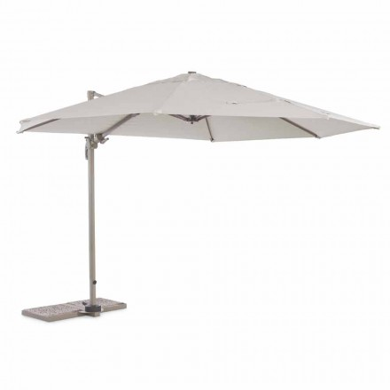 Outdoor Umbrella, Diameter 3.5m in Polyester with Aluminum Pole - Linfa