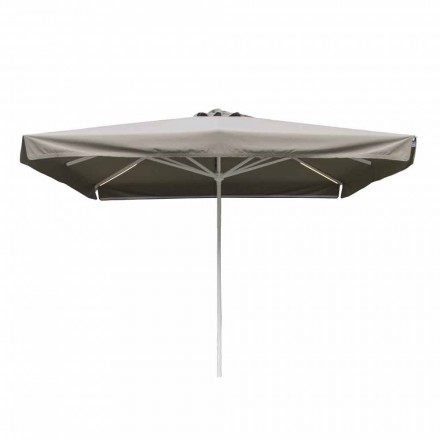 Outdoor Fabric Umbrella with Metal Structure Made in Italy - Solero