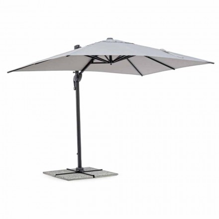 Garden Umbrella, 2x3 in Polyester with Anthracite Aluminum Pole - Coby