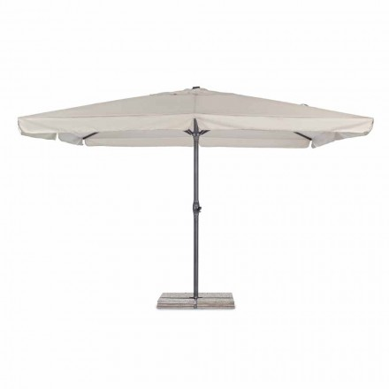 4x4 Garden Umbrella with Polyester Cloth and Steel Base - Nastio