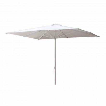 Garden Umbrella in Acrylic Fabric and Aluminum Made in Italy - Solero