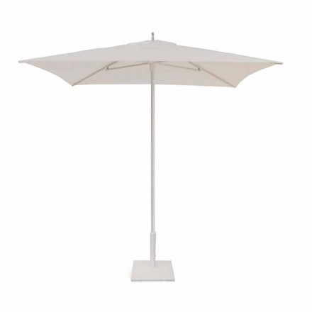 2x2 m Garden Umbrella in Fabric and Modern Aluminum - Apollo by Talenti