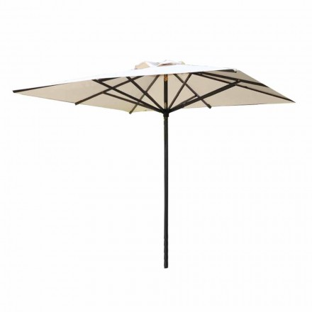 High Quality Fabric and Aluminum Garden Umbrella Made in Italy - Casio