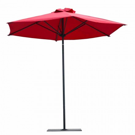 Luxury Fabric and Aluminum Garden Umbrella Made in Italy - Meridio