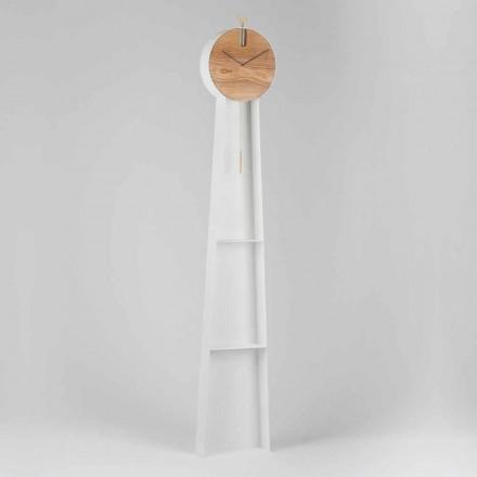 Design Pendulum Clock with Steel Structure Made in Italy - Pendolino