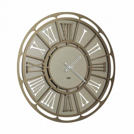 Modern Iron Wall Clock Made in Italy - Classicone