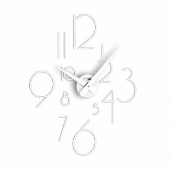 Modern design wall clock Marte Big, made in Italy