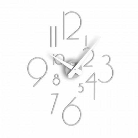 Big wall clock with a modern design Marte, made in Italy