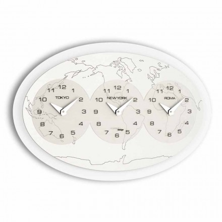 Modern wall clock Zed Big