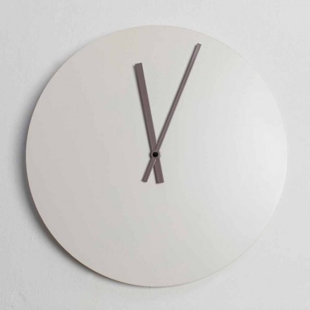Colored Modern Industrial Design Wall Clock Made in Italy - Fobos