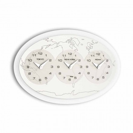 Modern design wall clock Zed