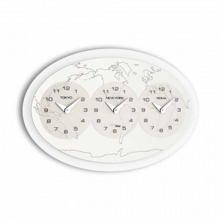 Modern design wall clock Zed