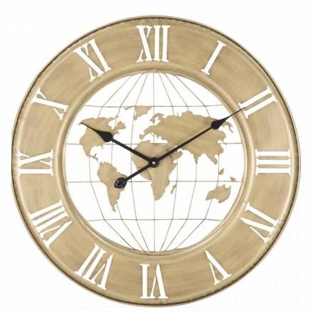 Wall Clock Diameter 63 cm of Modern Design in Iron - Telma