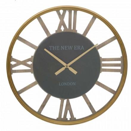 Round Wall Clock Diameter 60 cm of Design in MDF - Krizia