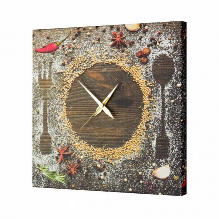 Made in Italy contemporary design wall clock Lane