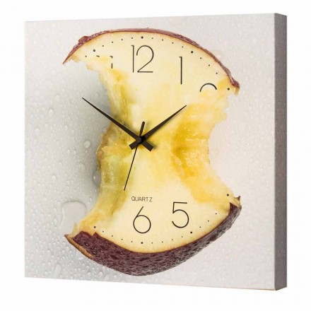 Made in Italy wall clock, modern design, 40x40 cm Ryan