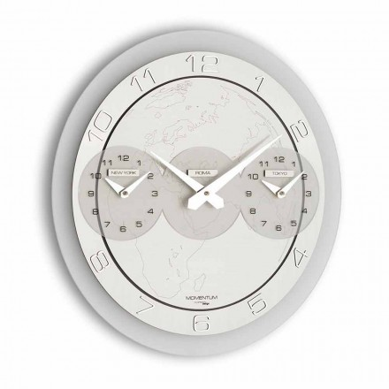 Modern wall clock Dininho Tris