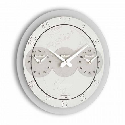 Modern wall clock Dininho Tris