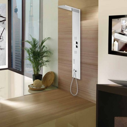 Bossini 4 function stainless steel shower panel Manhattan Column by