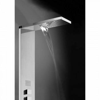 Panel steel multifunction shower Bossini Manhattan Column