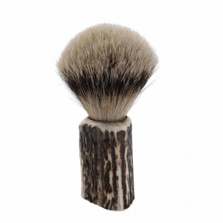 Handcrafted Badger Hair Shaving Brush Made in Italy - Euforia