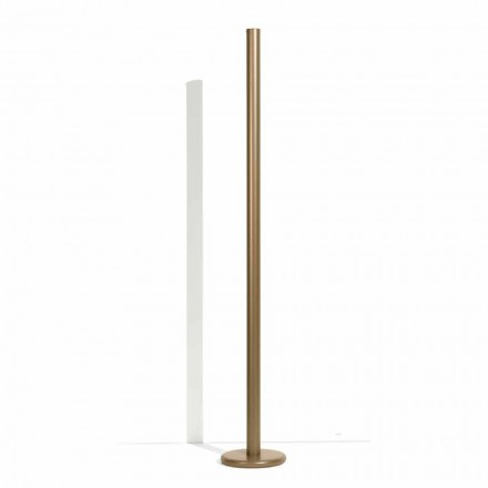 Modern Metal Floor Lamp with Double Lighting Made in Italy - Roman