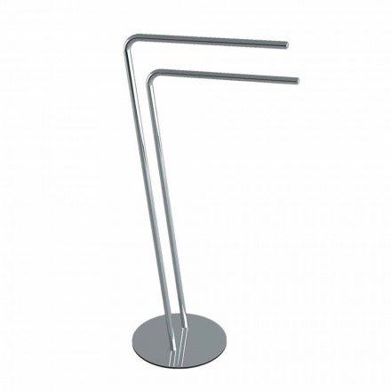 Iron Towel Stand Modern Design Made in Italy - Brindo