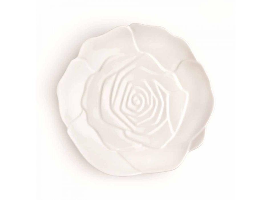12 pieces Porcelain Elegant Hand-Decorated Favor Plate - Rafiki