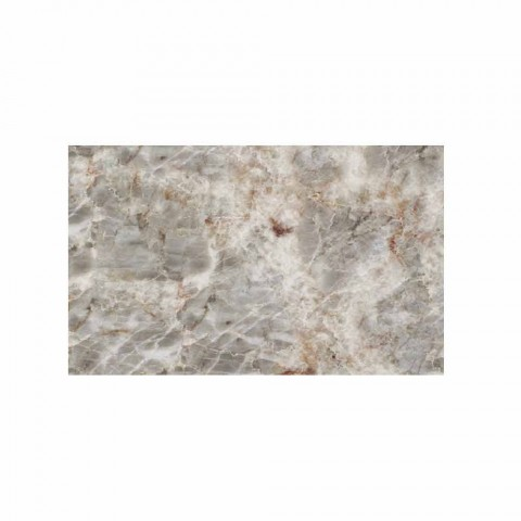 Bright Fior di Pesco Carnico marble stone with 3 Stonehenge cuts