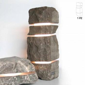 Bright Fior di Pesco Carnico marble stone with 3 Stonehenge cuts
