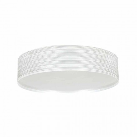 2-light modern ceiling light Debby, made of polypropylene, 45 cm diam.