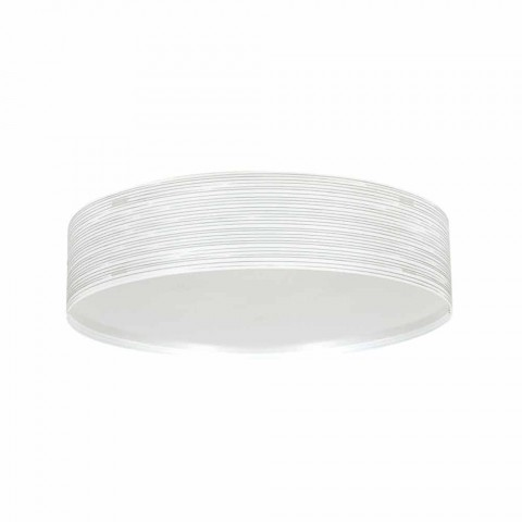 Ceiling lamp 2 lights in modern design polypropylene Debby, diameter 45cm