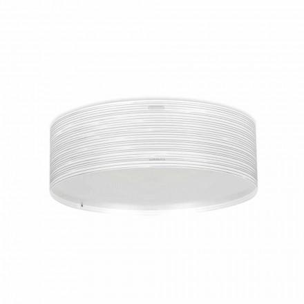 3-light modern ceiling light Debby, made of polypropylene, 60 cm diam.