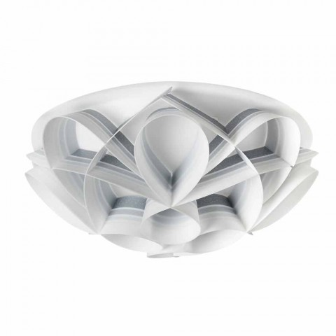 3 lights ceiling lamp made in Italy of modern design, diam. 51 cm, Lena