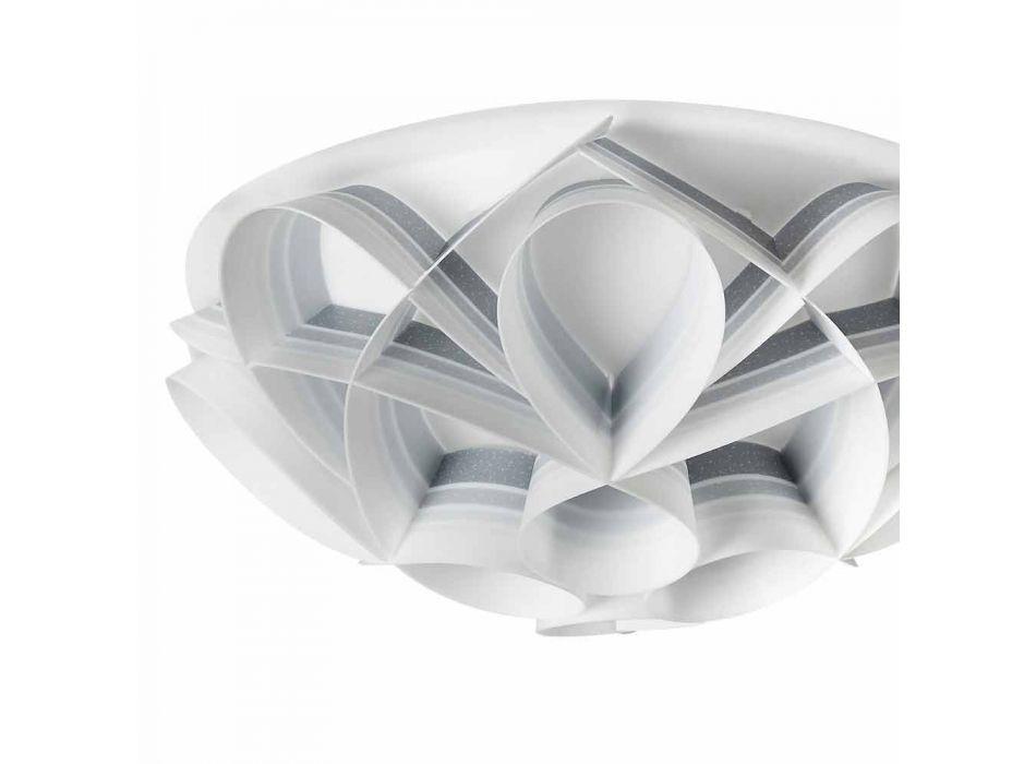 3 lights ceiling lamp made in Italy of modern design, diam. 51 cm, Lena