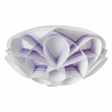 3-light ceiling light Lena, modern design made in Italy, 51 cm diam.