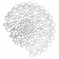 Applique Ceiling Light in White Technopolymer Design 2 Sizes - Cathedral