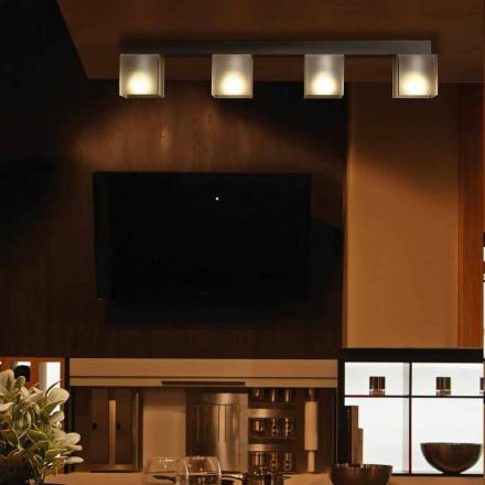 Modern design ceiling lamp Matis with modern shade 86x11 cm