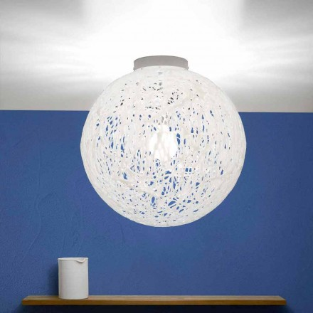 Modern design ceiling lamp Mady, made in Italy, diameter 48 cm