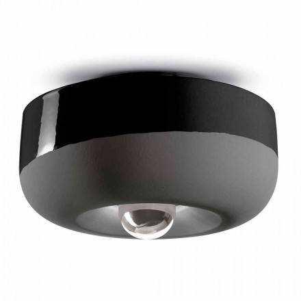 Modern Design Ceiling Light in Colored Ceramic Made in Italy - Bellota