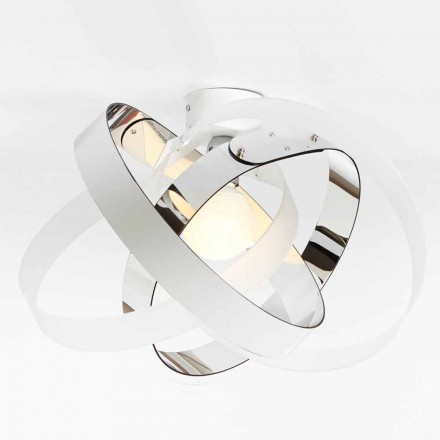 Two-coloured modern ceiling light Ferdi, 56 cm diameter